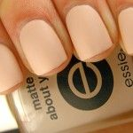 in love with pastel matte nail polish :)