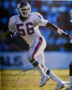 Lawrence Taylor Signed 16x20 Photo - JSA - Sports Memorabilia #LawrenceTaylor #NewYorkGiants #SportsMemorabilia