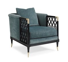 Lattice Entertain You : Caracole Upholstery : LIVING - CHAIRS : UPH-CHAWOO-61A | Caracole Furniture