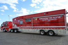 Edmonton AB Haz-Mat De-Con truck