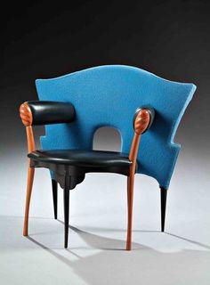 Borek sipek  papillon chair, 1985