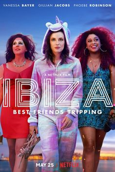 Ibiza is a 2018 American romantic comedy film directed by Alex Richanbach, from a screenplay by Lauryn Kahn. It stars Gillian Jacobs, Vanessa Bayer, Phoebe Robinson, and Richard Madden. Hd Movies Online, 2018 Movies, New Movies, Good Movies, Movies And Tv Shows, Movies Free, Watch Movies, Ibiza, Richard Madden