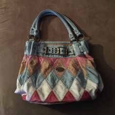 Beautiful handbag Very soft, lots of room, one inside pocket. Barely used. No rips, stains or scratches. Other Bags Shoulder Bags