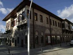 Former municipality building-Stone building-Taş bina-Eski belediye binası-Constructive: Boynukalın Hani Ali Aga-Built year: Late Ottoman-Architect: Molla Usta-Restore: Karaman Municipality-Restore year: 2015-Karaman (İt is used as a tourism center-Restorasyondan sonra Turizm merkezi olarak kullanılmaktadır.