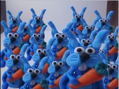 Jak ulepić królika ? How to do with modeling clay bunny