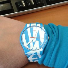 Swatch WHITE IN BLUE ©fizgig75