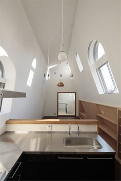 House with Eaves and an Attic, Tokyo, 2011 by ON design Partners