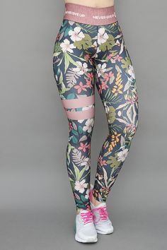 Catalogo   GalaSport Floral Leggings Outfit, Funky Leggings, Best Leggings, Girls In Leggings, Printed Leggings, Colorful Leggings, Sporty Outfits, Outfits For Teens, Stylish Outfits