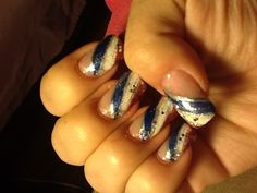 of July inspired nail art design I saw here. Not bad for a beginner! Holiday Nail Designs, Holiday Nails, Nail Art Designs, 4th Of July Nails, Fourth Of July, Love Nails, Nail Ideas, Hair Beauty, Inspired