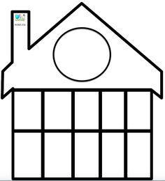 plantilla casita de decenas First Grade Activities, Autism Activities, 1st Grade Math, Kindergarten Activities, 1st Year Teachers, Singapore Math, Kids Math Worksheets, Math Multiplication, Preschool Songs