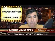 Cleveland Indians vs. Seattle Marines MLB Betting Line Odds Pick Predict...