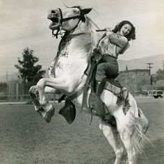 HOLLYWOOD COWGIRL - Yvonne De Carlo - Universal-International Pictures - Publicity Still.