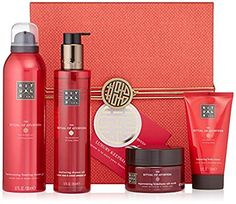 The Ritual of Ayurveda 4 pieces Gift Set includes Body Scrub, Shower Oil, Shower Foam and Body Cream in Luxury Keepsake Box Ayurveda, Shower Foam, Perfume, Sweet Almond Oil, Keepsake Boxes, Body Scrub, Gifts For Women, Baby Shower Gifts, Best Gifts