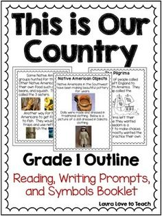 """First Grade - """"This is Our Country"""""""