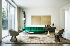 Federico Cedrone is a very talented photographer. I saw and image of a green Knoll sofa and followed it back to his portfolio.