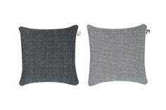 pillow-stripes & dots fine-black & white-cotton-50x50 cm A