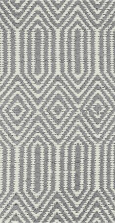 169 The Ryker Rug in Grey and White. Hand woven and Moroccan inspired using geometric shapes and tribal patterns. White Wooden Floor, Monochrome Pattern, Carpet Stairs, Hall Carpet, Textiles, Tribal Patterns, Beige Carpet, Bedroom Carpet, Fabric Swatches