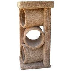 New Cat Condos Premier Triple Cat Tunnel, Brown - Cat store galore Cat Toilet Training, Dog Toilet, Diy Cat Tree, Cat Activity, Cat Perch, Cat Store, Cat Towers, Cat Tunnel, Cat Scratcher