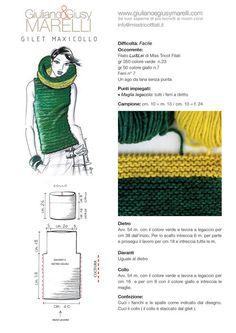Gilet Crochet, Crochet Stitches, Knit Crochet, Diy Knitting Projects, Knitting Designs, Crochet Capas, Knitting Patterns, Crochet Patterns, Modelista