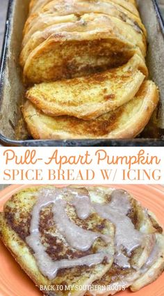 Pumpkin Puree Recipes, Pureed Food Recipes, Top Dessert Recipe, Dessert Recipes, Breakfast Recipes, No Cook Desserts, Homemade Desserts, Pumpkin Spice Bread, Pull Apart Pumpkin Bread