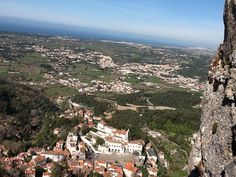 High up in Sintra