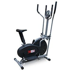 <3 <3 Need this <3 <3 Pro XS Sports 2-in1 Elliptical Cross Trainer Exercise Bike-Fitness Cardio Weightloss Workout Machine-With Seat + Pulse Heart Rate Sensors