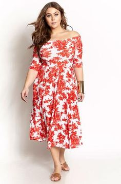 13833fd958f Dresses – REBDOLLS Curvy Women Outfits, Plus Size Skirts, Plus Size  Outfits, Red