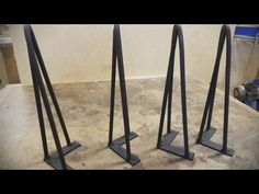 How to make Hairpin legs - YouTube
