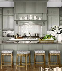 Design Chic - http://www.mydesignchic.com/2014/04/things-love-stacked-kitchen-cabinets/