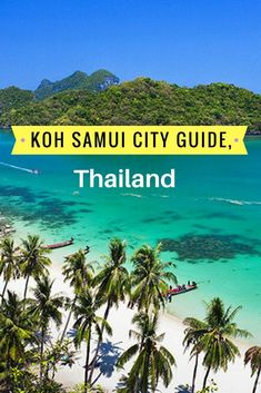 Ko Samui / Koh Samui City is a self-sufficient island which means a source of business. It has been taking care of the tourism like a well - oiled machine. Thailand Destinations, Thailand Travel Tips, Visit Thailand, Amazing Destinations, Asia Travel, Travel Destinations, Koh Phangan, Chiang Mai, Phuket