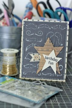 card star stars A Fun Card {just because} by iheartart @2peasinabucket