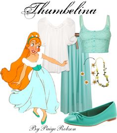 """""""Thumbelina"""" by paige-robson ❤ liked on Polyvore"""