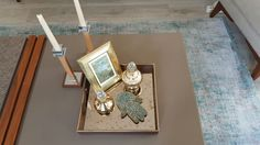 Tray . Wood tray with 4mm antique mirror