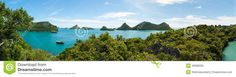 View Point Of Ang Thong Islands National Park ,Thailand Stock Photo - Image: 46086095