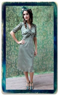 070bc6d417c 37 Delightful vintage 1940s inspired skirts and dresses images in ...