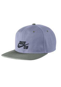 794315077a3  planetsports NIKE SB - Icon Snapback Cap iron purple black med base grey