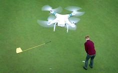 Drone pilots making a living from flying high over the fairways | A new industry is springing up in aerial photography and golfers are getting a lift from video guides to courses filmed from drones.