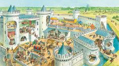 Castles and knights - Q-files Encyclopedia