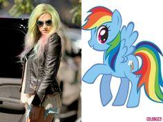 """Ke$ha is channeling her inner """"my little pony"""""""