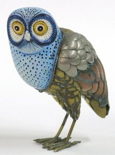 2016: Owl figurine, Bustamante : Lot 2016