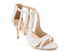 86a03746e22 Women Sienna Sandal -Silver Gold Metallic. Caged HeelsHigh Heels StilettosStiletto  HeelsShoes ...