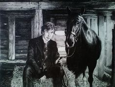 Benedict Cumberbatch  My niece Liz drew this.  Great job!