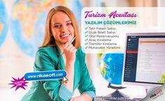 Turizm Acentası Yazılım Çözümlerimiz ✅Tatil Paketi Satışı ✅Uçak Bileti Satışı ✅Otel Rezervasyonu ✅Araç Kiralama ✅Transfer Kiralama ✅Muhasebe Yönetimi 😍www.rikasoft.com #rikasoft