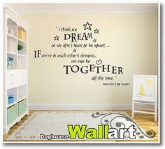 Winnie The Pooh Quote Nursery Wall Stickers