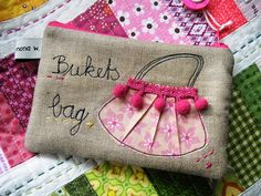 Cute zippered bag