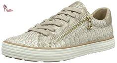 23615, Sneakers Basses Femme, Rose (Rose/Gold 593), 38 EUs.Oliver