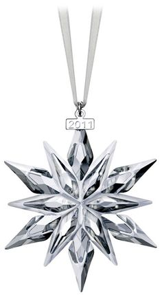 Swarovski collectible ornaments ~ beautiful crystal!