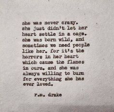 Reminds me of someone I've loved very much for a very long time