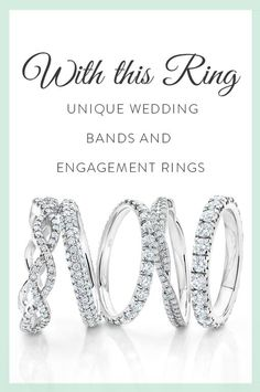 Read More About While a wedding only lasts for one day, your marriage—and a unique engagement ring or wedding band—will last a lifetime. Here are a few ideas about how to make your rings as special as you are. Wedding Engagement, Wedding Bands, Engagement Rings, Wedding Ring, Perfect Wedding, Dream Wedding, Wedding Day, Wedding Stuff, Monsieur Madame