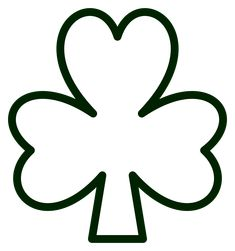 St PatrickS Day Shamrock Templates For Crafts  Enchanted